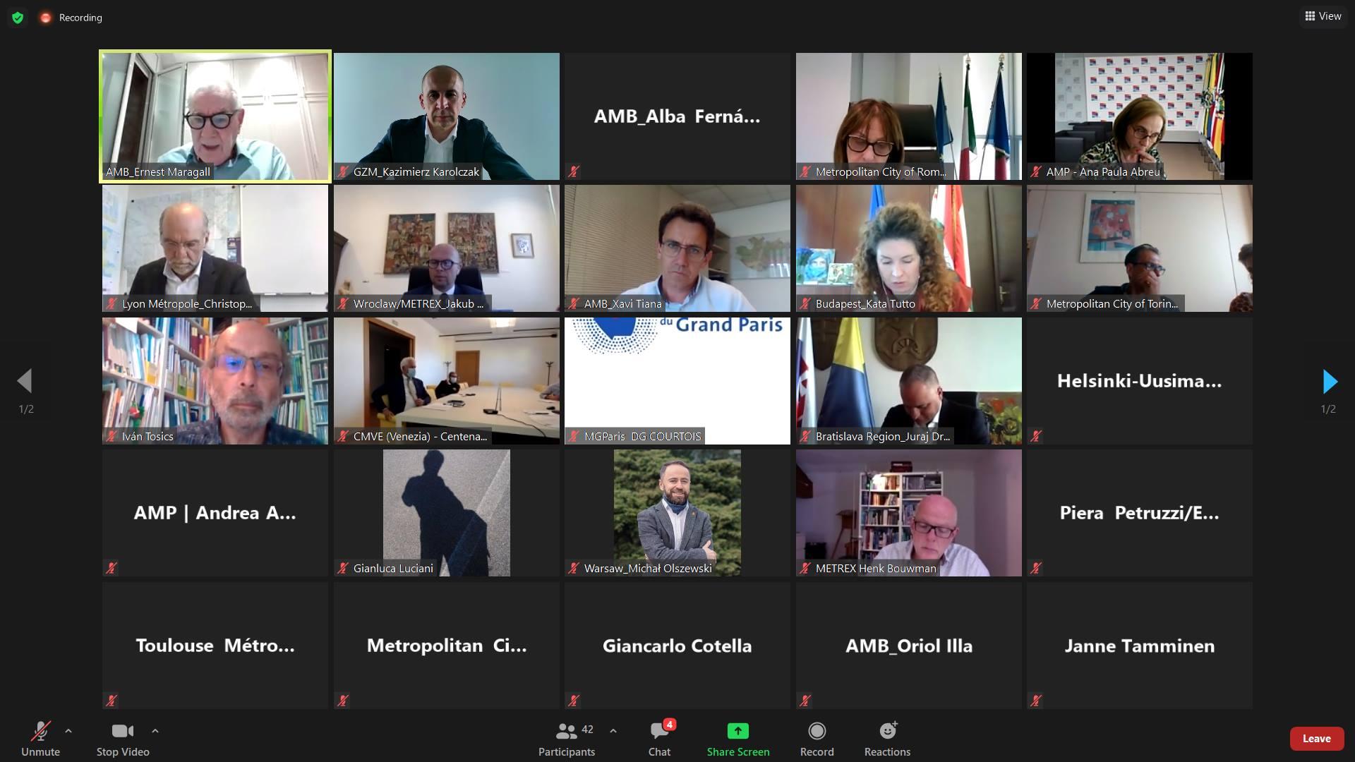 Spotkanie na komunikatorze online