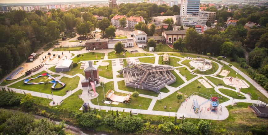 Park 12C, widok z lotu ptaka