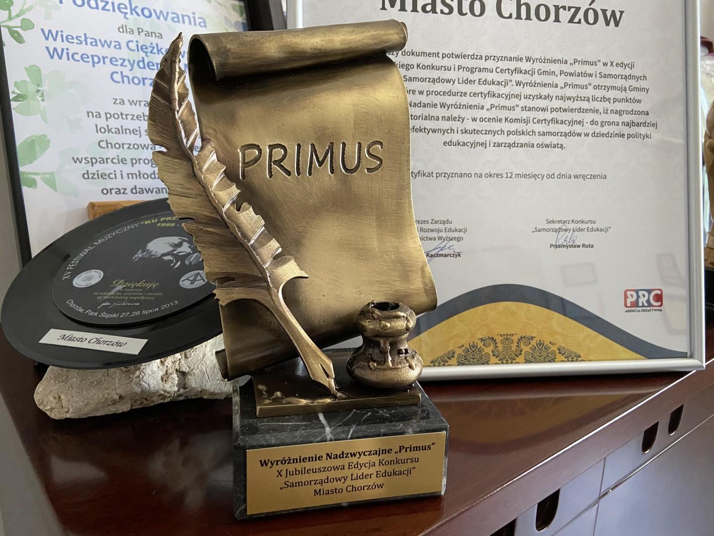 """Nagroda """"Primus"""""""