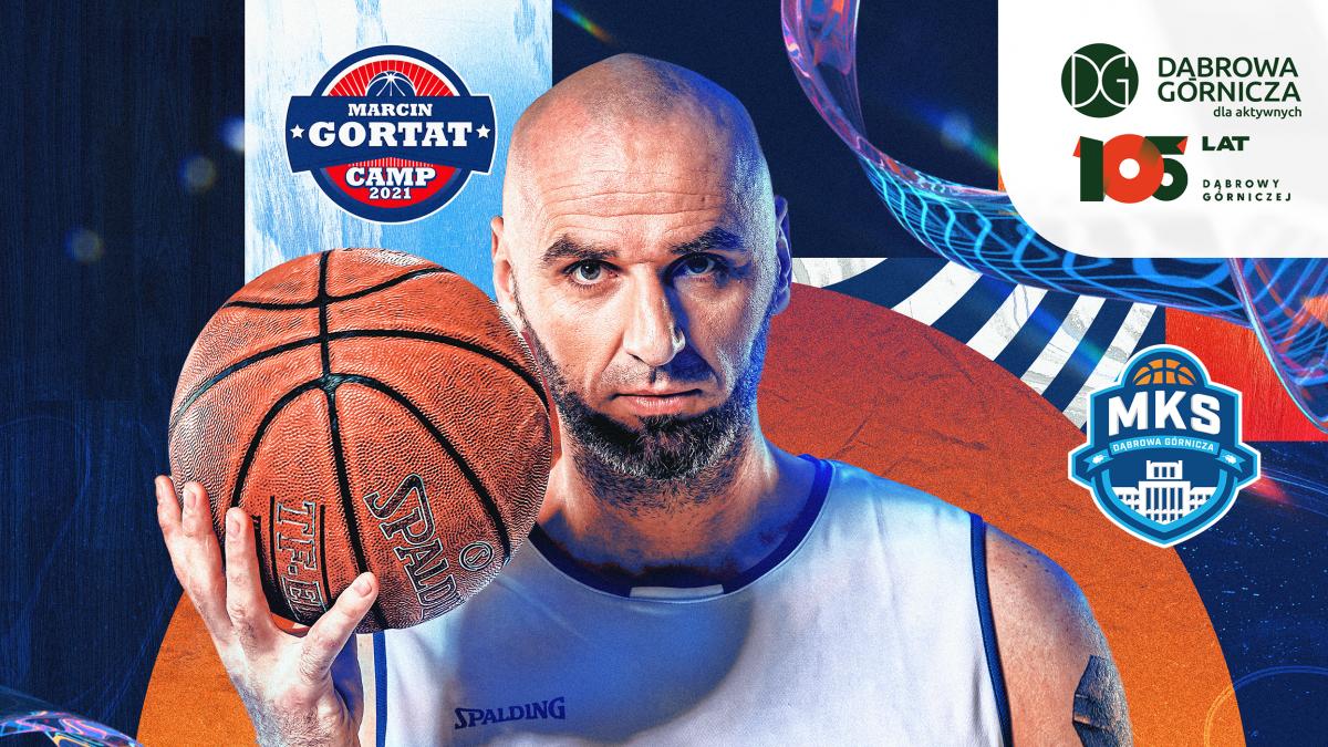Plakat z Marcinem Gortatem