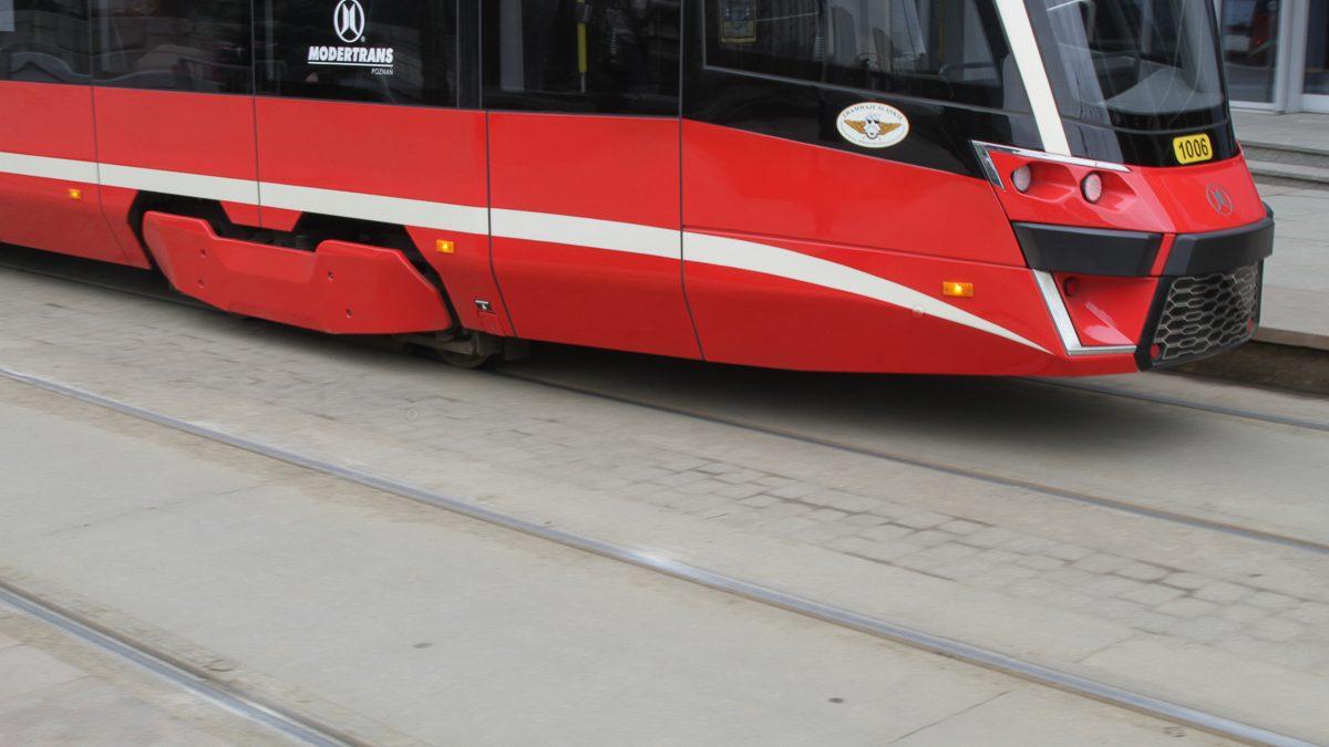 Fragm. tramwaju