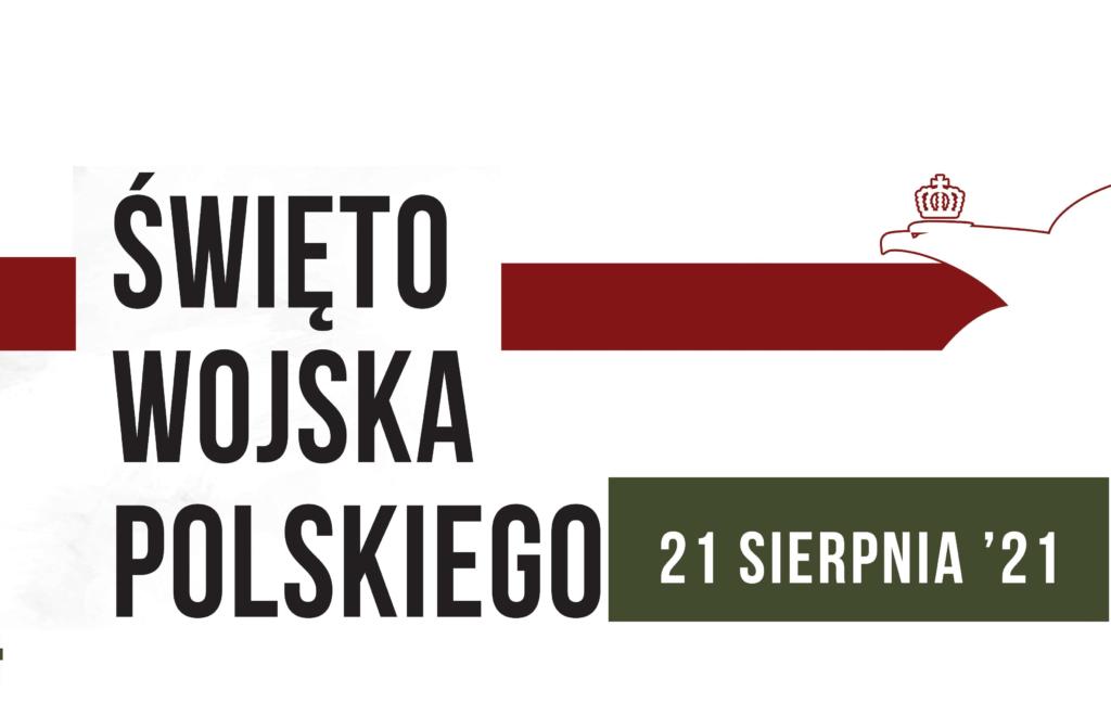 Plakat zapraszający na Święto Wojska