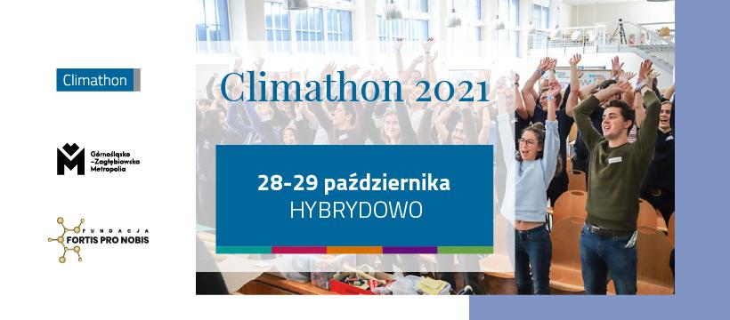 Plakat - Climathon 2021