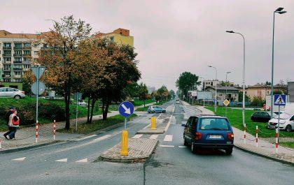 Ulica w Dąbrowie Górniczej